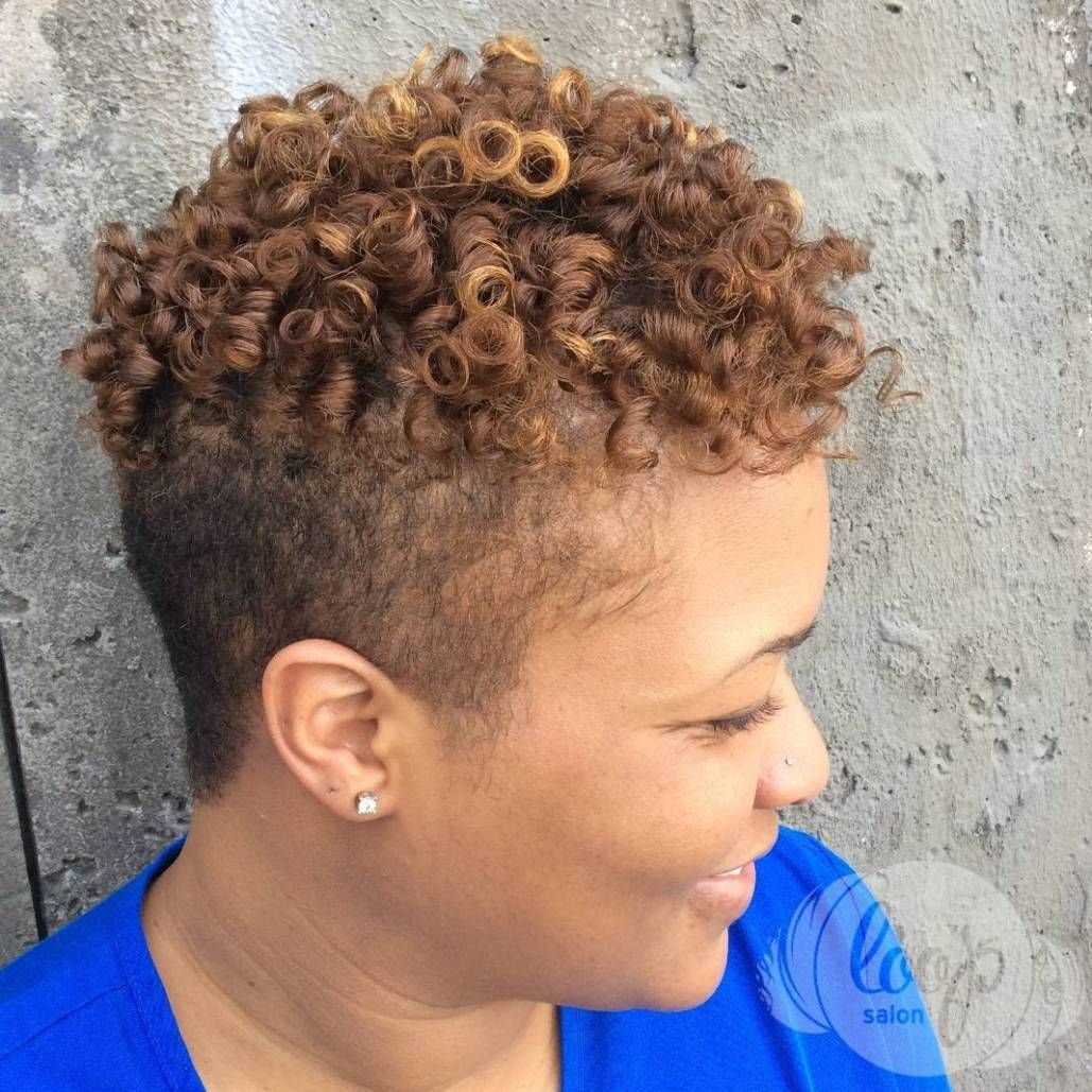 cute tapered natural hairstyles for afro hair curly undercut