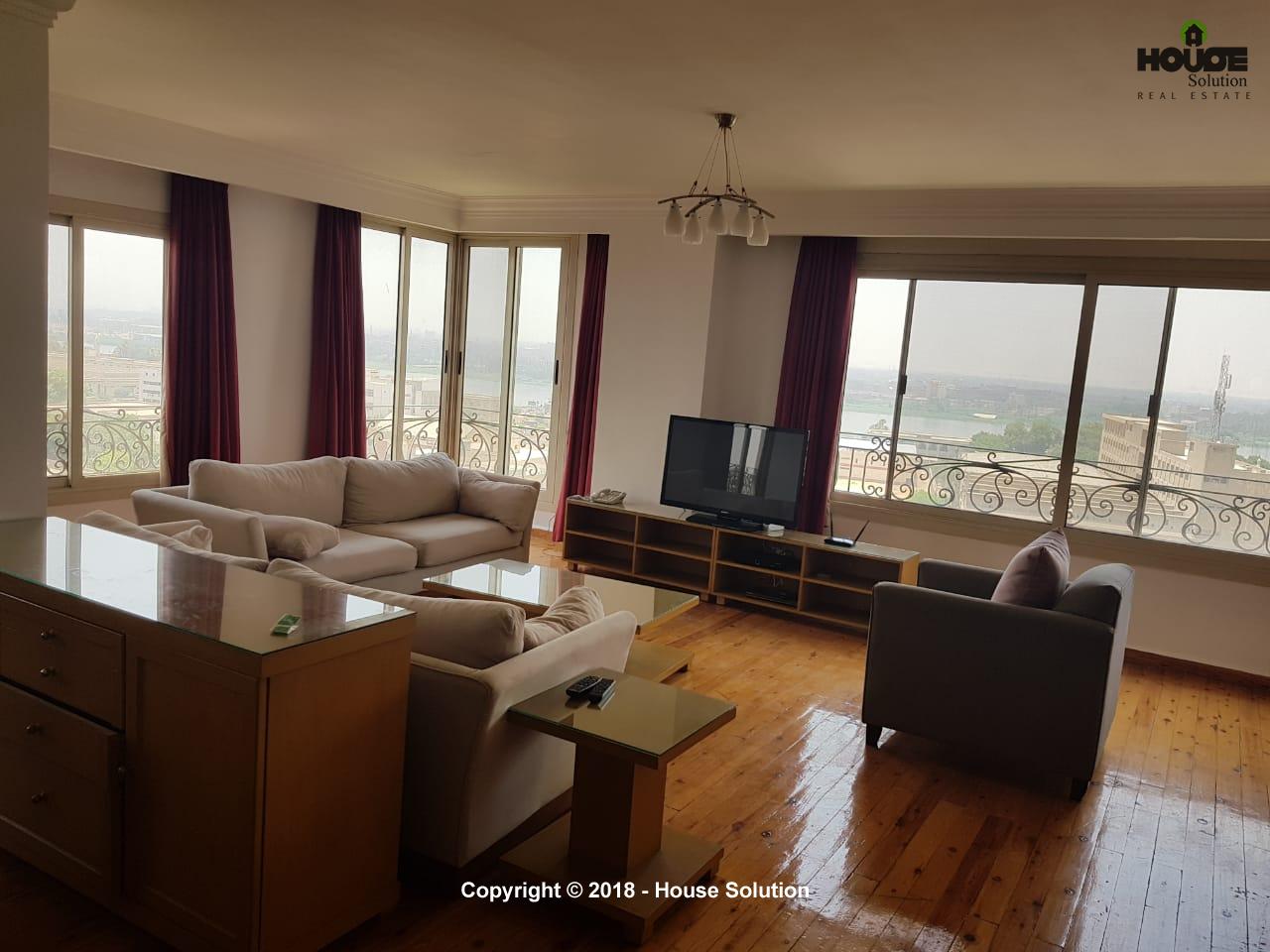 Duplex Penthouse For Rent In El Maadi
