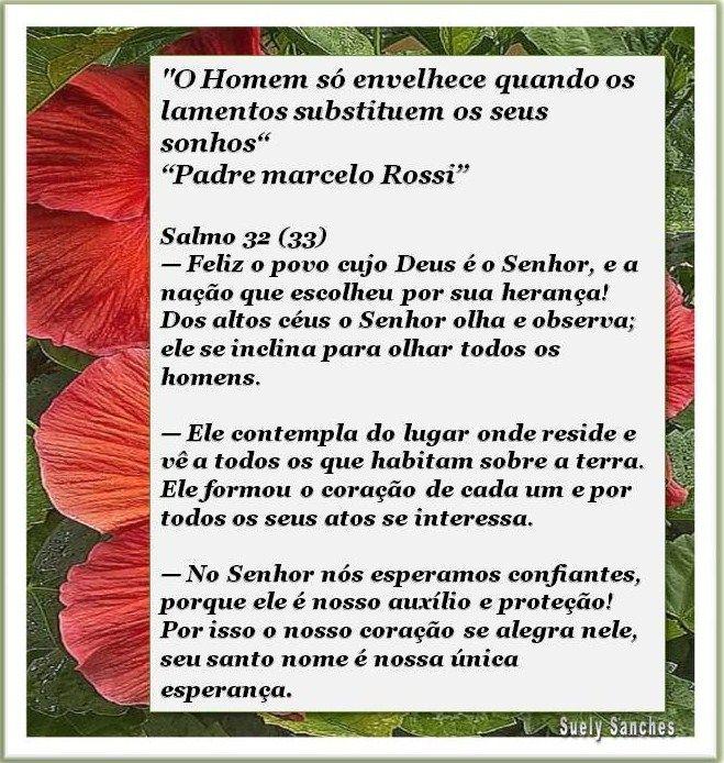 FRASE DO PADRE MARCELO ROSSI E SALMO