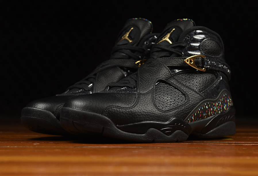 Celebrate The Start Of Summer With The Air Jordan 8 Championship Pack  Confetti