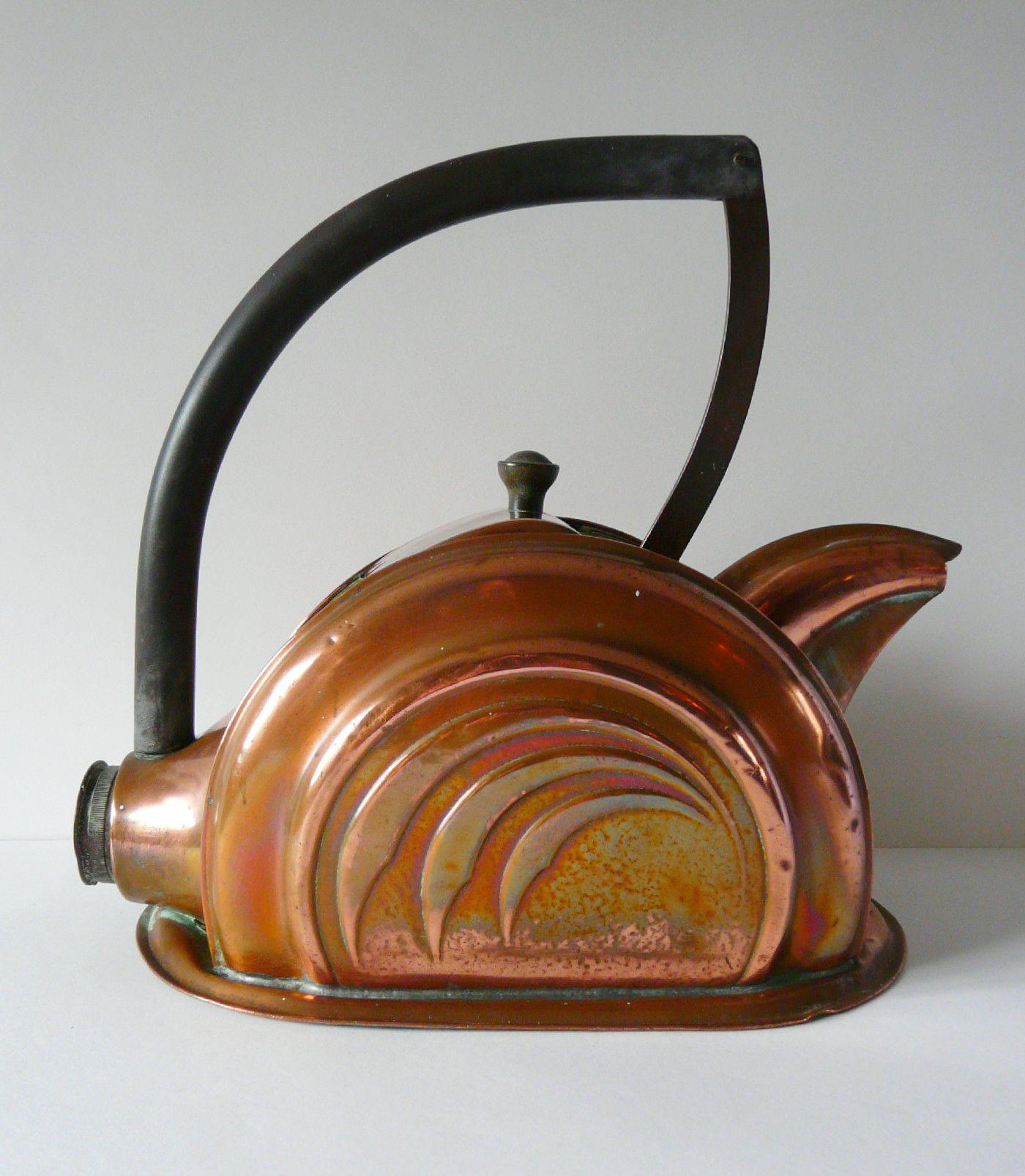 art deco copper kettle rosie s emporium shrewsbury august 2015