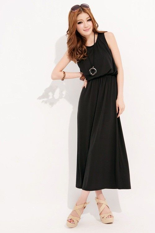 Pretty and Smart Long Casual Dresses | Fashion Trends | Pinterest ...