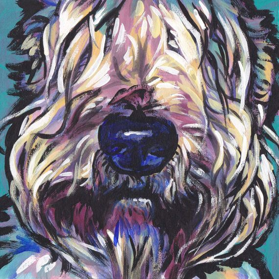 Wheaten Terrier art