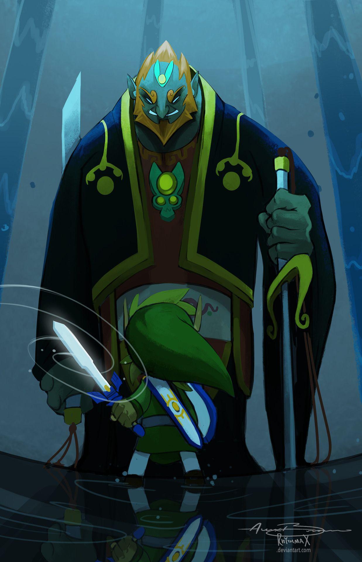 The Wind Waker | Link vs Ganondorf by Alexander Braun