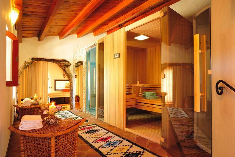 Centro Benessere Dell Hotel Alberi Del Paradiso Di Cefalu