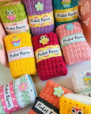 Craft Fair Idea #2 Pocket Tissues - 2019 Craft Fair Season #craftfairs