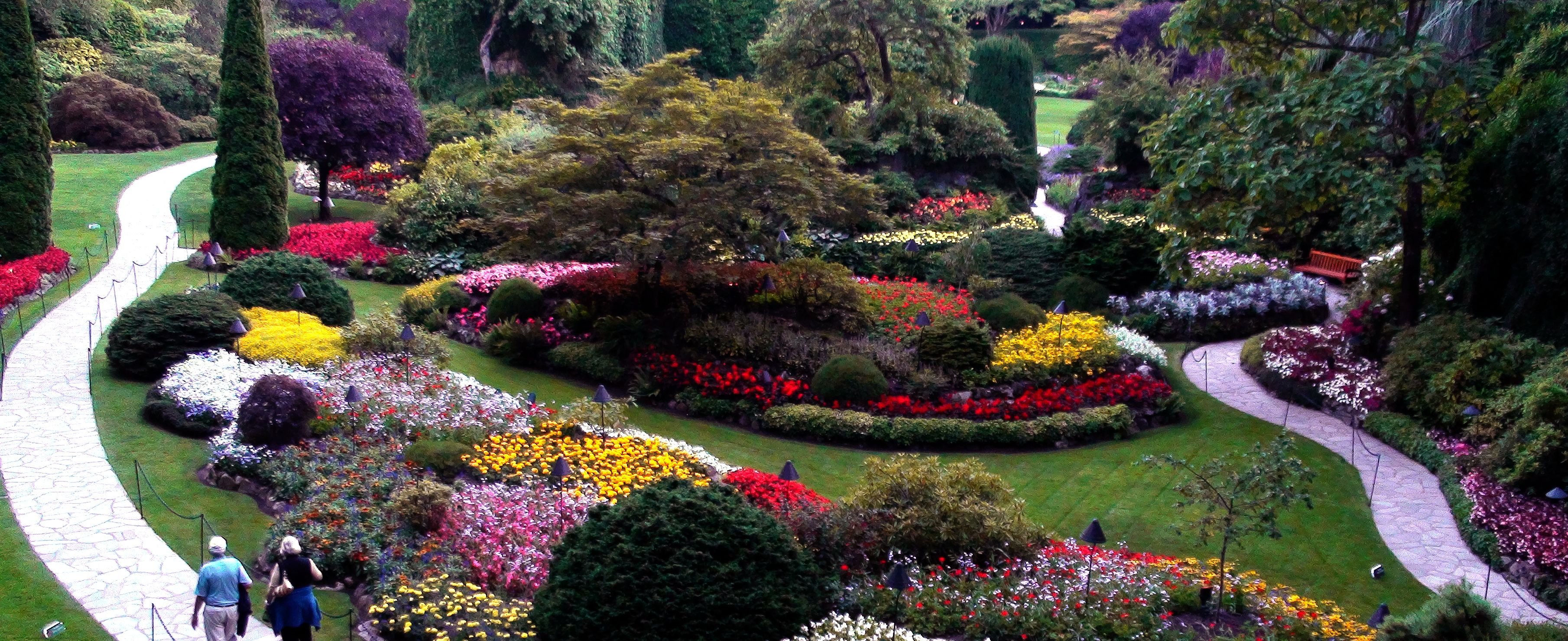 Buchard Gardens, Victoria Canada. I went there as a kid. I ...