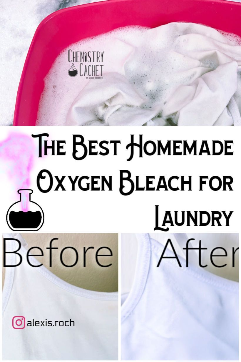 Homemade Oxygen Bleach for Laundry With Science Based Tips