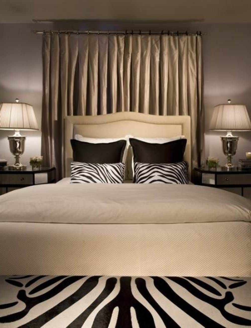 Lieblich Zebra Beroom | Bold Zebra Print Bedroom Ideas | DesignArtHouse.com   Home  Art, Design .