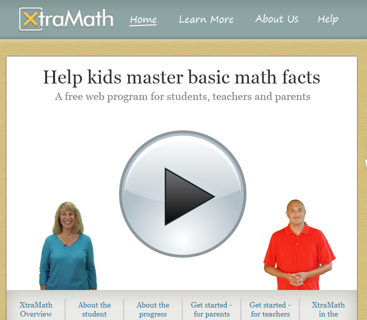 XtraMath - Free website for practicing math facts - teachers or ...