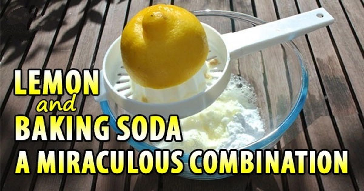 Lemon and Baking Soda: A Miraculous Cancer-Fighting Combination