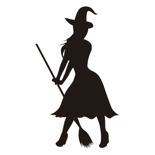 Young Lady Witch Silhouette Ad Paid Affiliate Lady Witch Silhouette Young Witch Silhouette Silhouette Witch