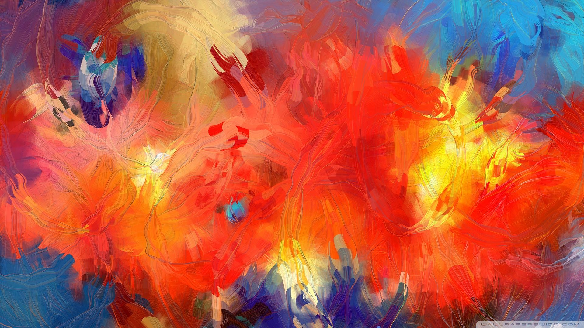 Abstract Painting Wallpaper For Android