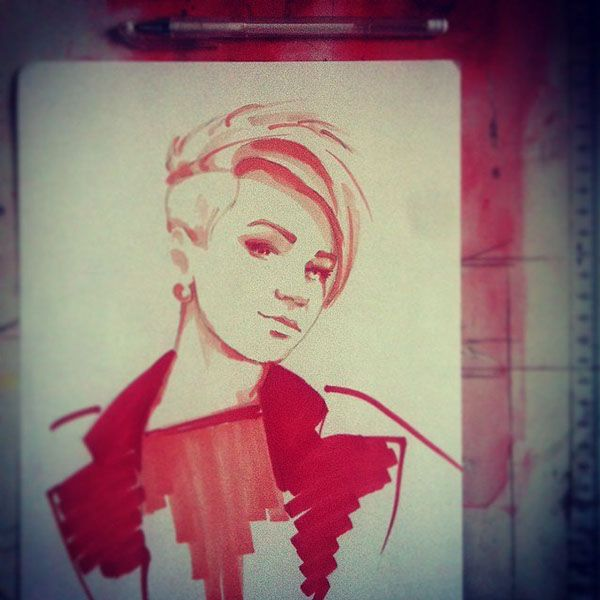 by Andrey Baikov Portraits part 5 (marker) on Behance