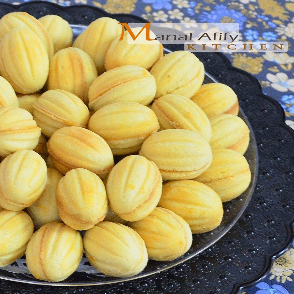 طريقة عمل الجوزية بالصور و الخطوات بسكوين الجوزية من أرقي أنواع البسكويت و يستعمل في صنع Eid Biscuit Recipes Arabic Sweets Recipes Bread Recipes Homemade