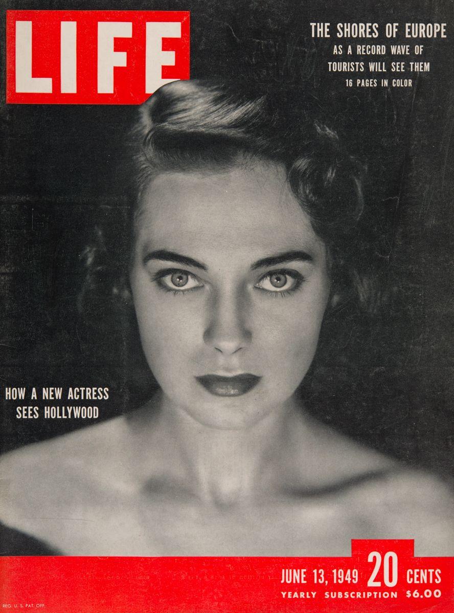 "Life Magazine cover, ""Actress Marta Toren"", June 13, 1949"