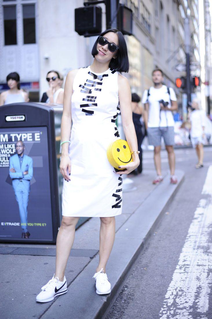 Eva Chen, editor, Lucky Magazine. Photo: @ashleyjahncke