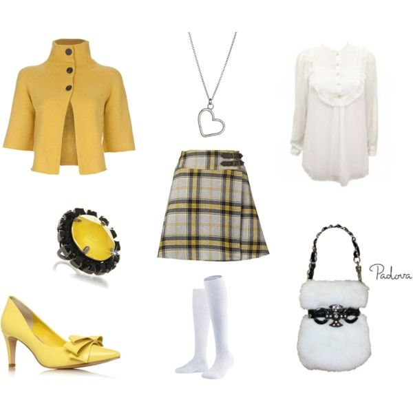 Clueless Inspired, created by me @ Polyvore