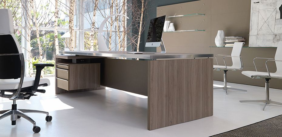 Modern Italian Executive Unique Office Desks Athos By Ivm Italy