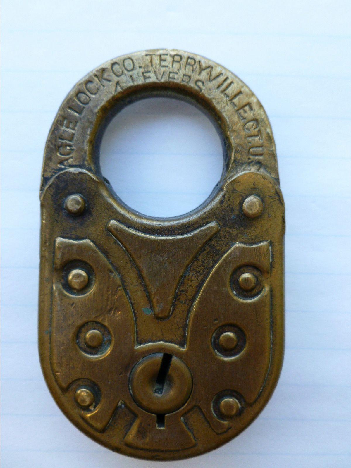 Old Eagle Lock Padlock Ebay Old Keys Padlock Vintage Keys