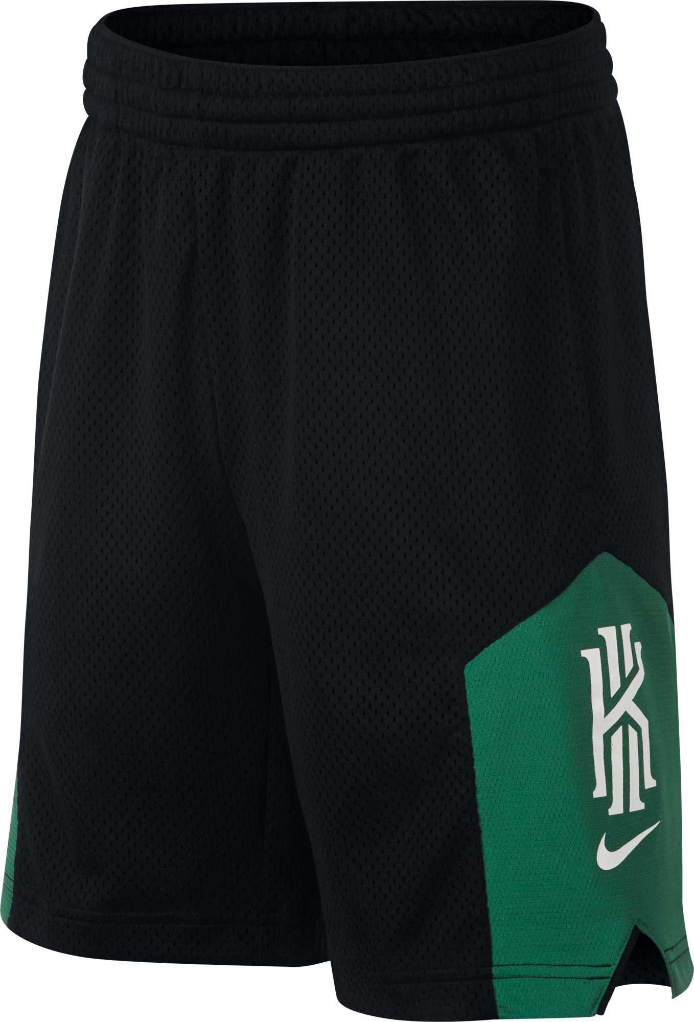 60c427f2dd6 Nike Boys' Kyrie Dri-FIT Graphic Basketball Shorts, Size: XS, Black ...