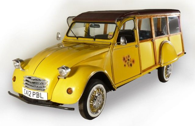 citroen 2cv special break kombi estate stationwagon. Black Bedroom Furniture Sets. Home Design Ideas