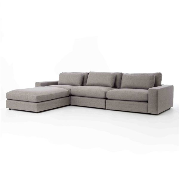Kensington Bloor Sectional Raf In Chess Pewter From The Four Hands Khazana