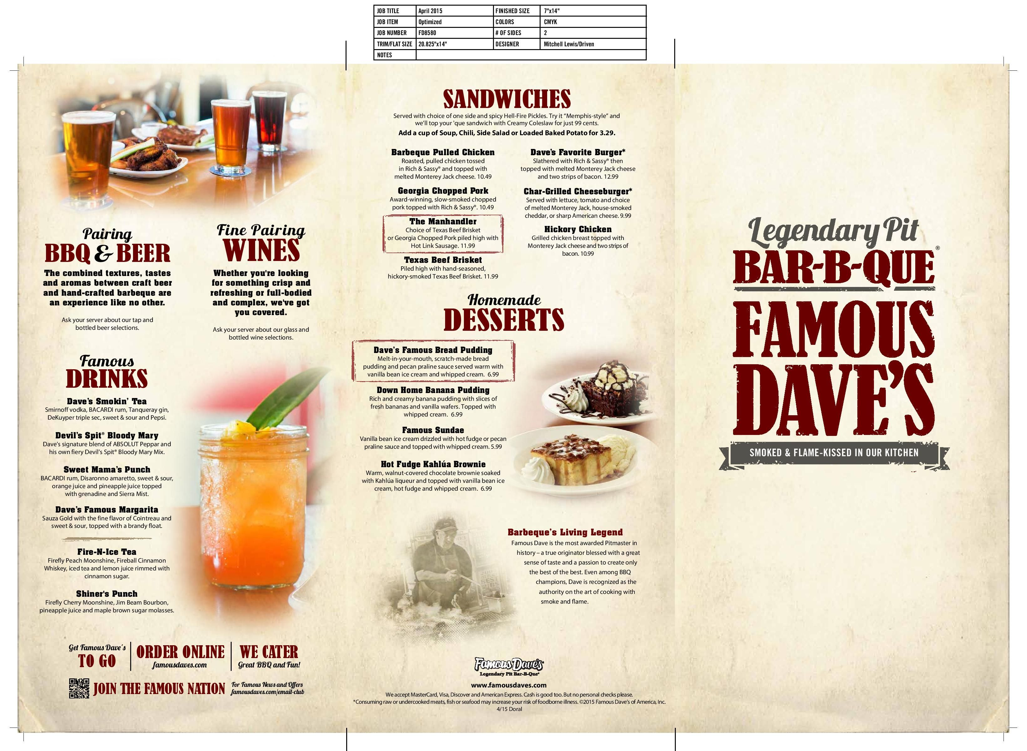 famous dave's doral (famousdavedoral) on pinterest