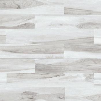 Hy Floors Tigerwood Snow 6 X 36 Porcelain Wood Look Tile