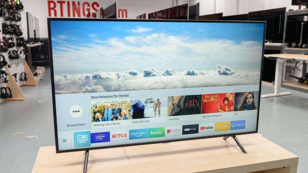 Samsung Ru7100 Review Un43ru7100fxza Un50ru7100fxza Un55ru7100fxza Un58ru7100fxza Un65ru7100fxza Un75ru7100fxza Rtings Com In 2020 Samsung Smart Tv Led Tv