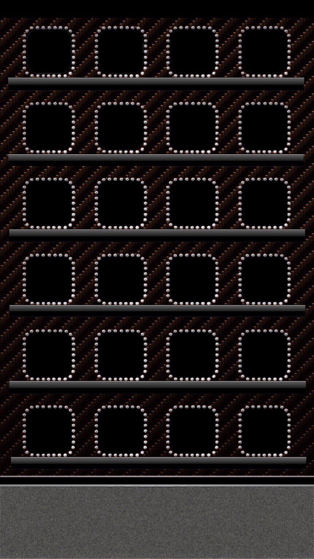 Frame Black Iphone 7 Plus Wallpaper Wallpaper Shelves Apple Wallpaper