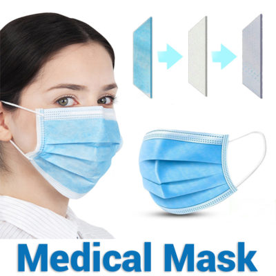 Disposable Medical Face Mask Fast & Free Shipping