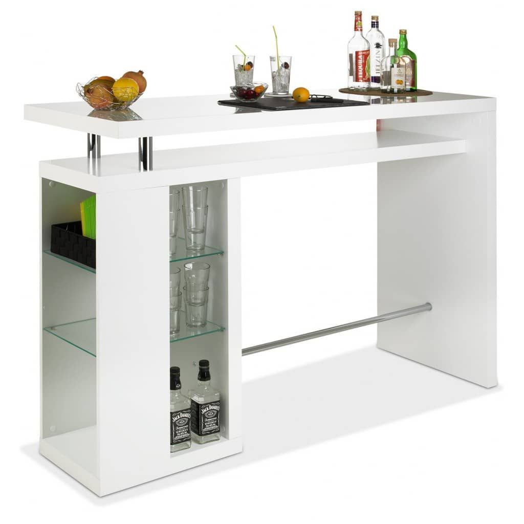 bar bartisch hochglanz wei camaro m bel jack einrichten und wohnen m bel hausbar. Black Bedroom Furniture Sets. Home Design Ideas