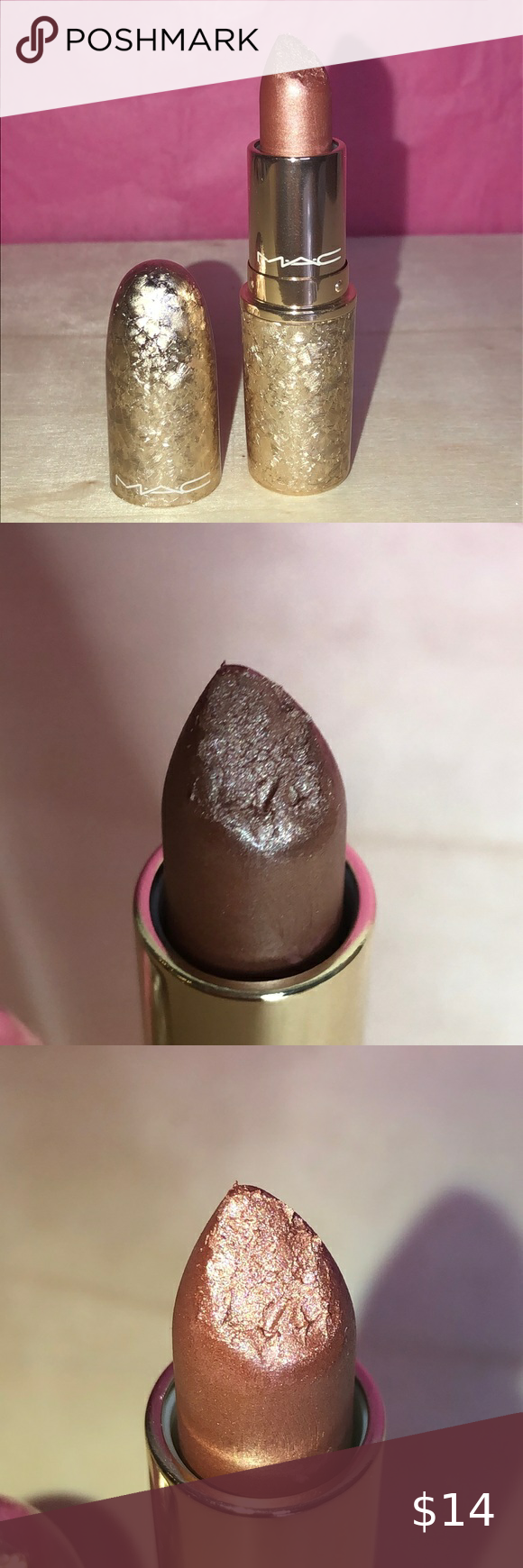 "MAC ""Holiday Crush"" Frost Lipstick in 2020 Frosted"