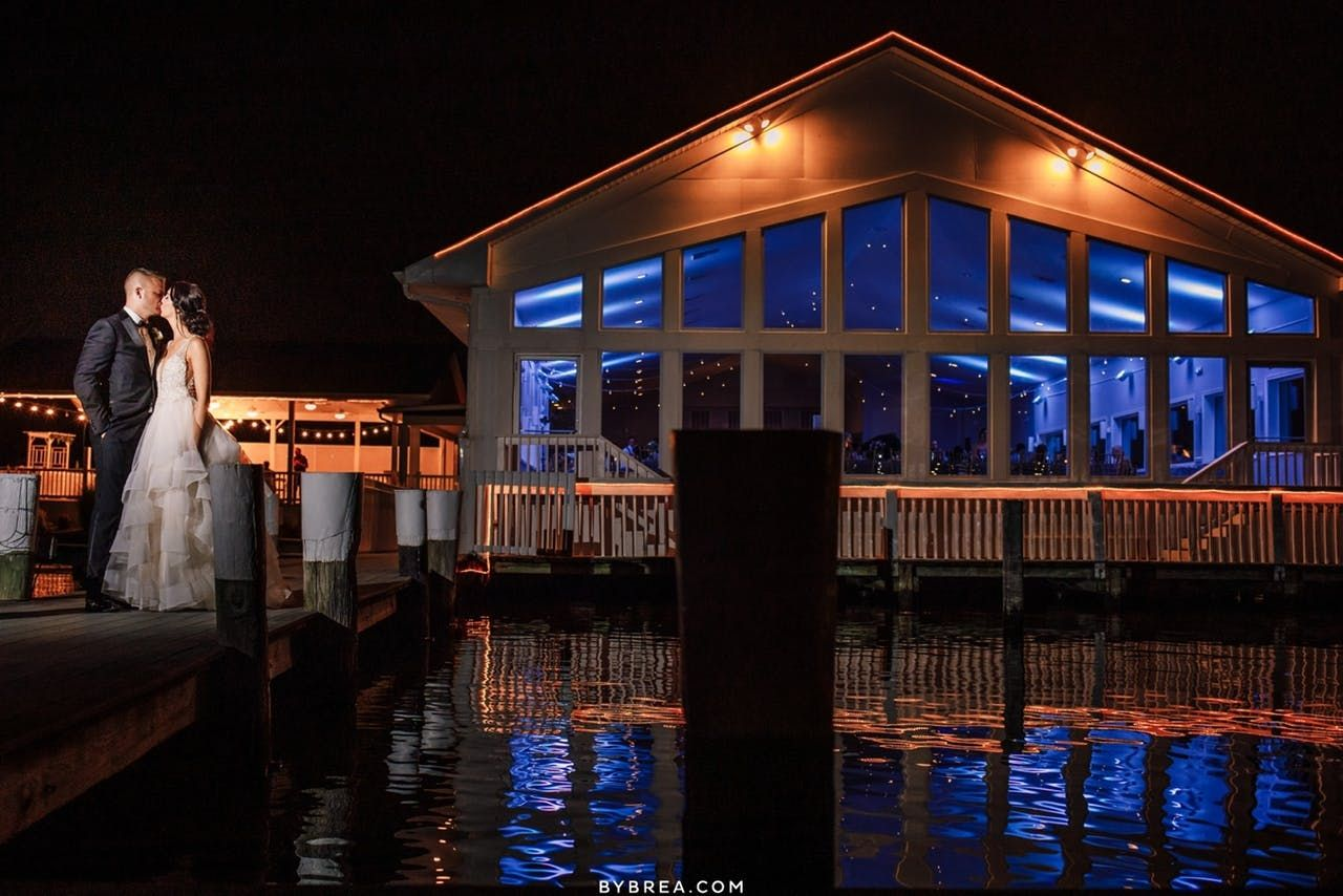 Charming Wedding On The Chesapeake Bay In 2020 Waterfront Wedding Venue Chesapeake Bay Md Wedding Venues
