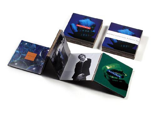CLIENTE Millibar. Catalogo per collezione autunno 1995. #stile #moda #catalogo #grafica #design
