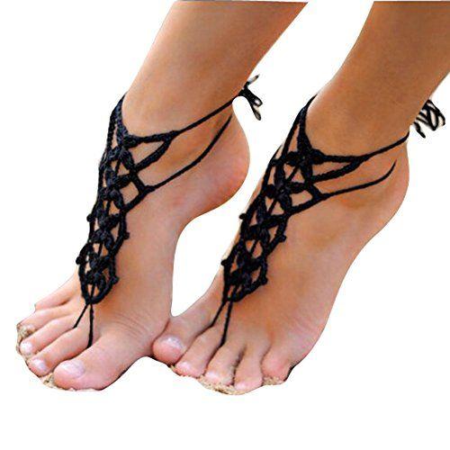 Crochet Barefoot Sandals For Summer 10 Free Patterns Bare Foot Sandals Crochet Barefoot Sandals Crochet Sandals