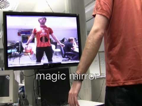 Augmented Reality Magic Mirror Using Kinect Augmented Reality Magic Mirror Reality