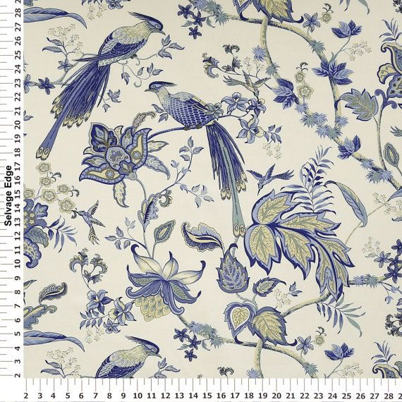 Blue Luana Home Decor Fabric   Upholstery Fabric Prints   Throw Pillows,  Accessories, Window Treatments?