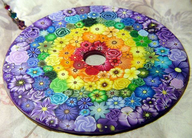 all things rainbow related — sunshine and rainbows by polymer clay creations.