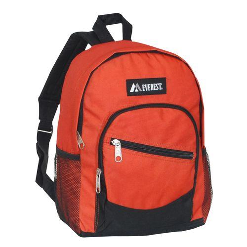 98e502e4d682 Everest Junior Slant Backpack Dimension10 x 13 x 5 in Rust Orange ...