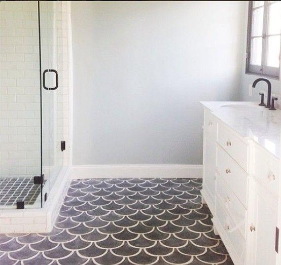 floors are amaze, via emily henderson Transitional