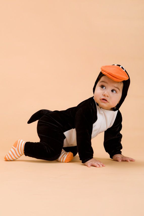 Hey I found this really awesome Etsy listing at //.etsy .com/listing/73564589/halloween-handmade-penguin-baby-costume  sc 1 st  Pinterest & Penguin Costume | Penguins Penguin baby and Baby costumes