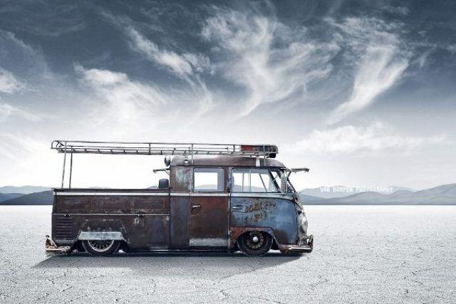 Trusty Rusty - VW Camper