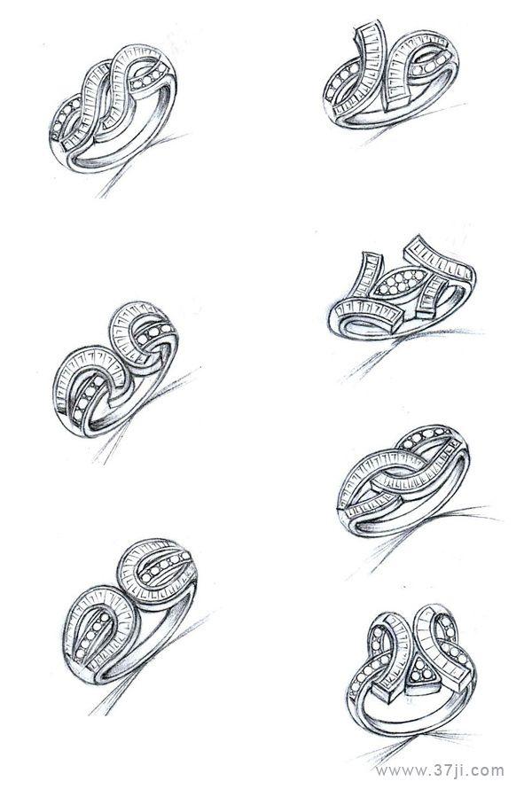 Pin by Sanaz Ghafari on drawing of jewellry in 2019