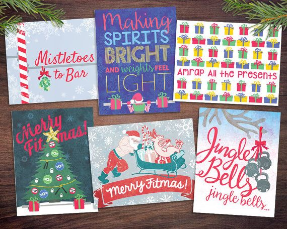 Crossfit christmas card 1 pack choose your favorite fitness crossfit christmas card 1 pack choose your favorite fitness holiday card single 1 card with envelope m4hsunfo