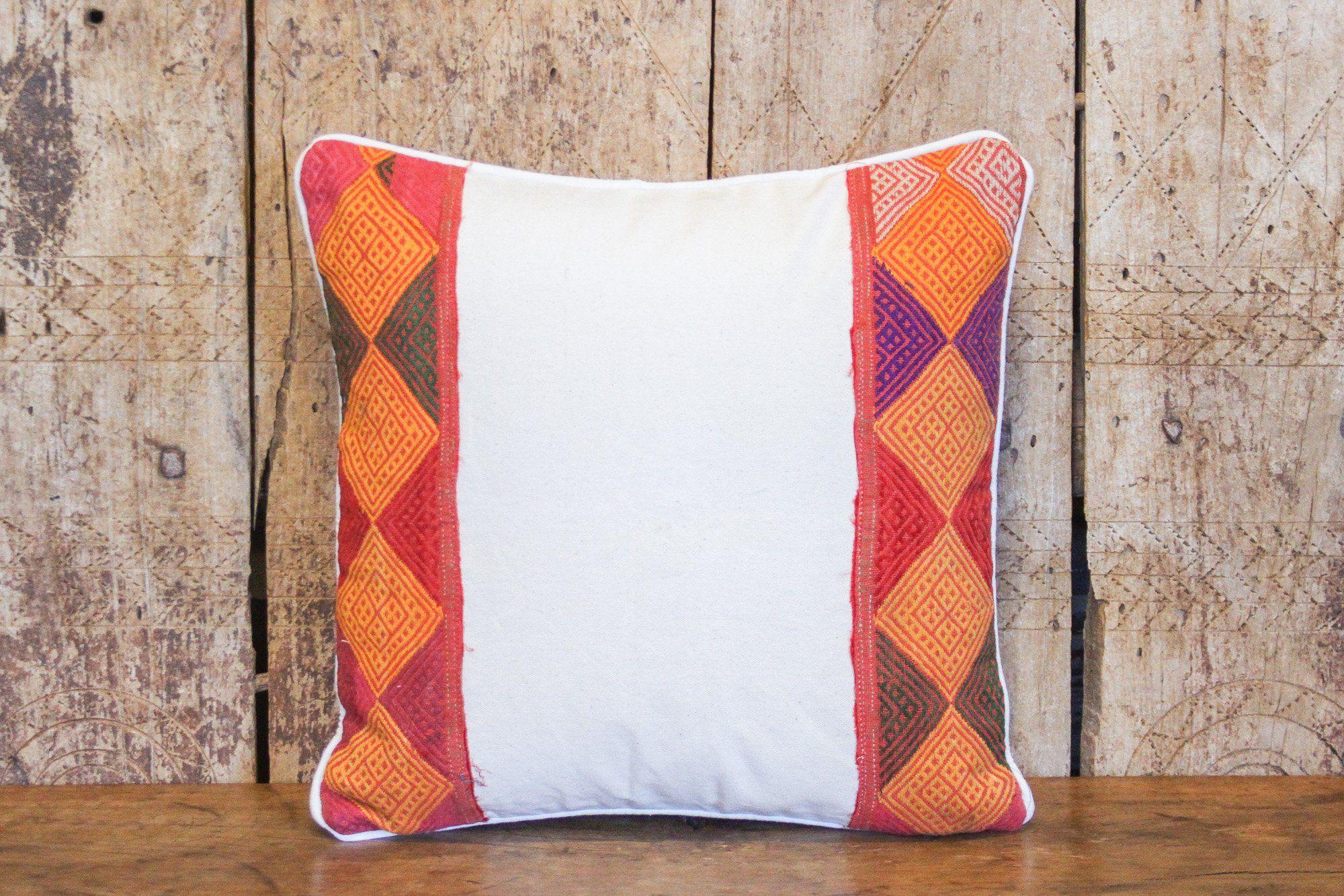 Diamond Tribal Lace Pillow