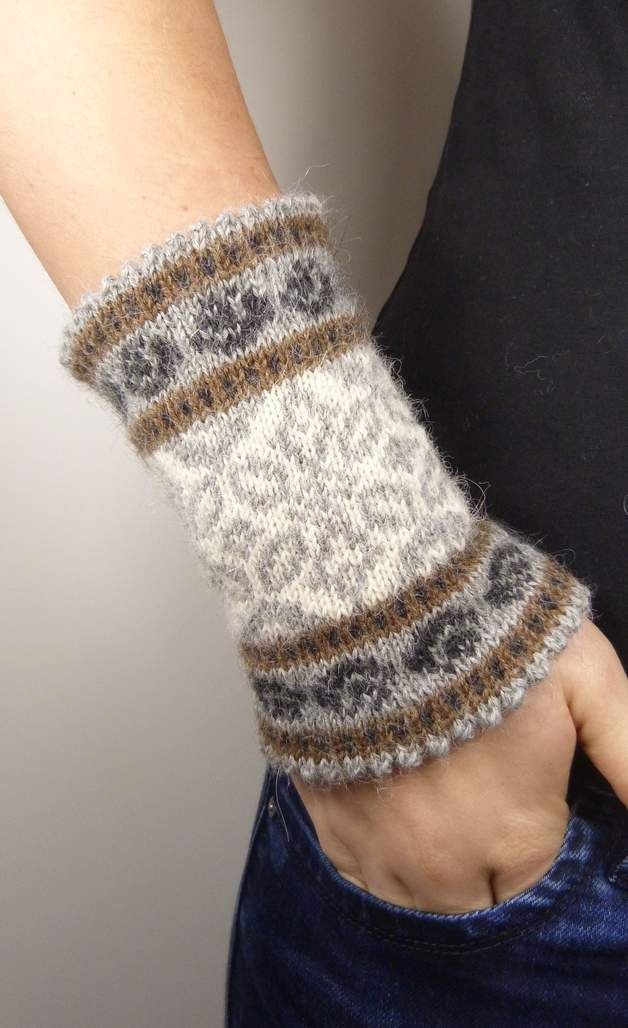 Photo of 100% ALPACA – ELENA – Armstulpen – Armstulpen & Handschuhe – Mit Liebe handgemac…