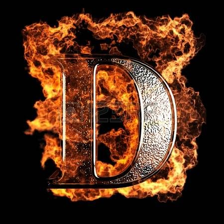 Burning Letter Made In 3d Graphics Lettering Alphabet Fonts Photo Letters Alphabet Letters Design