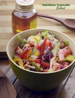 Nutritious vegetable salad low salt and high fiber veg salad nutritious vegetable salad low salt and high fiber veg salad recipe veg salad recipes vegetable salad and high blood pressure forumfinder Gallery